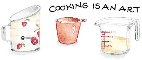 cooking is an art