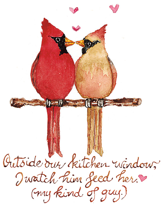cardinals kissing