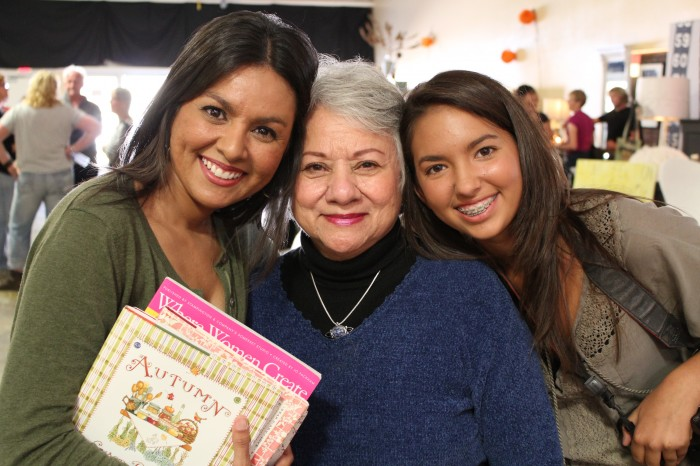 girlfriends at booksigning