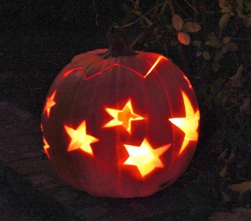starry pumpkin