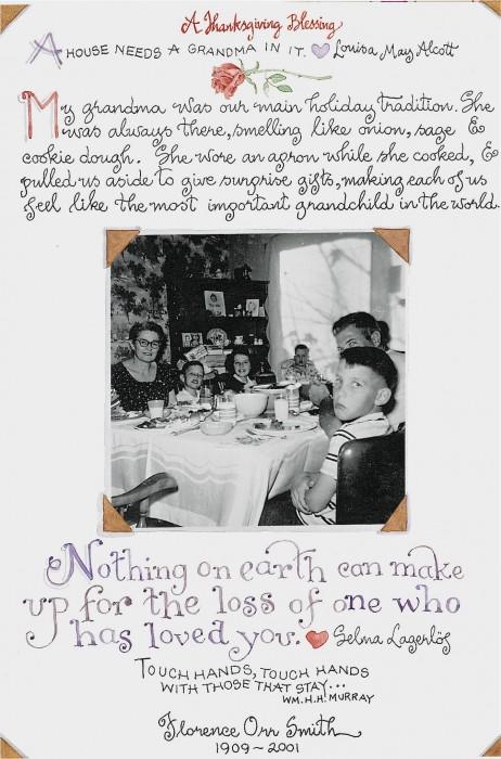 Thanksgiving with Grandma