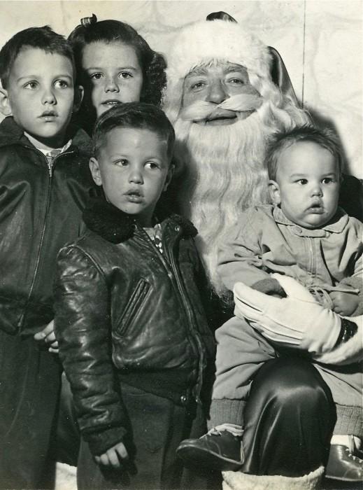 Us seeing Santa