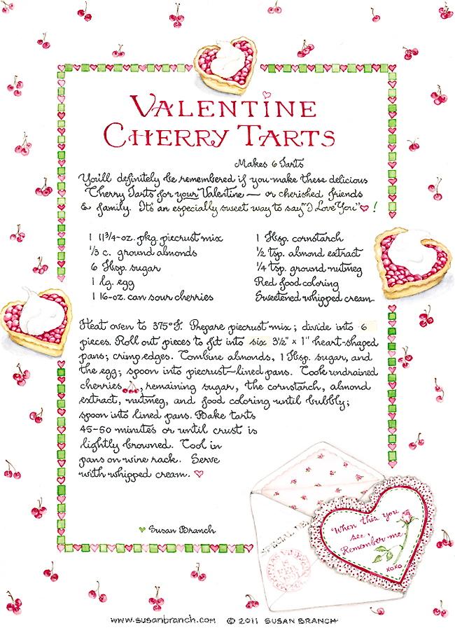 ValentineCherryTarts