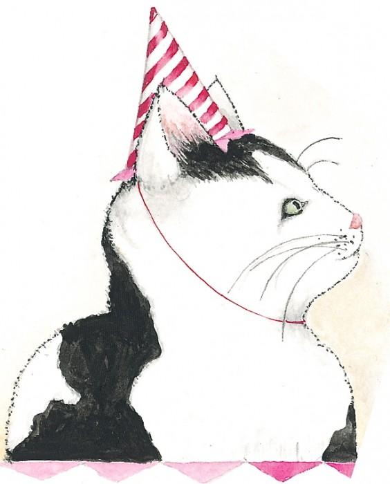 birthday kitty