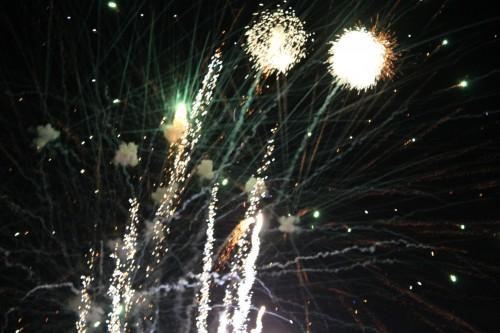 Last year, island fireworks!