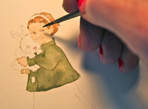 Painting Beatrix