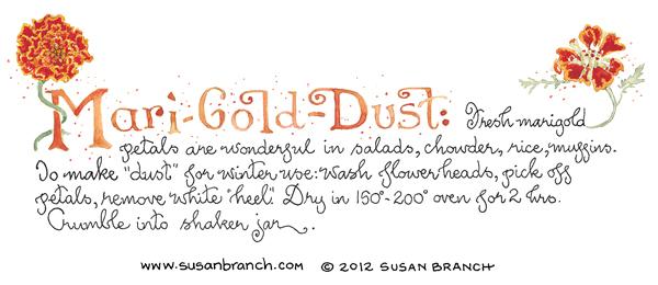 marigold-dust