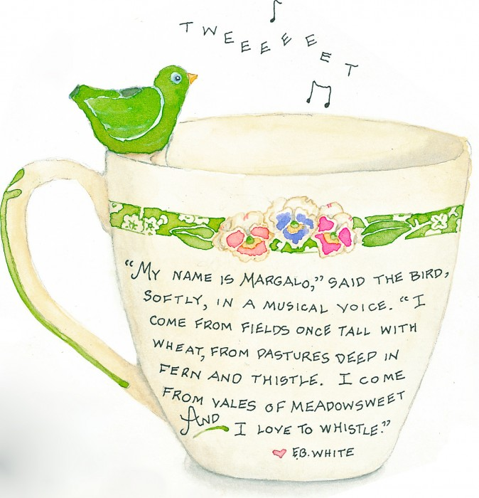 whistling cup