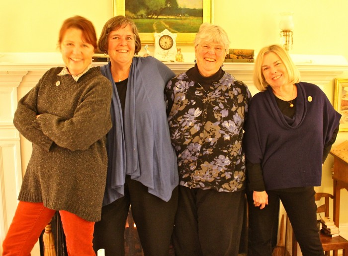 me, Betsy, Barb, Suzanne