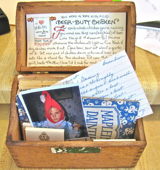 Heidi's recipe box