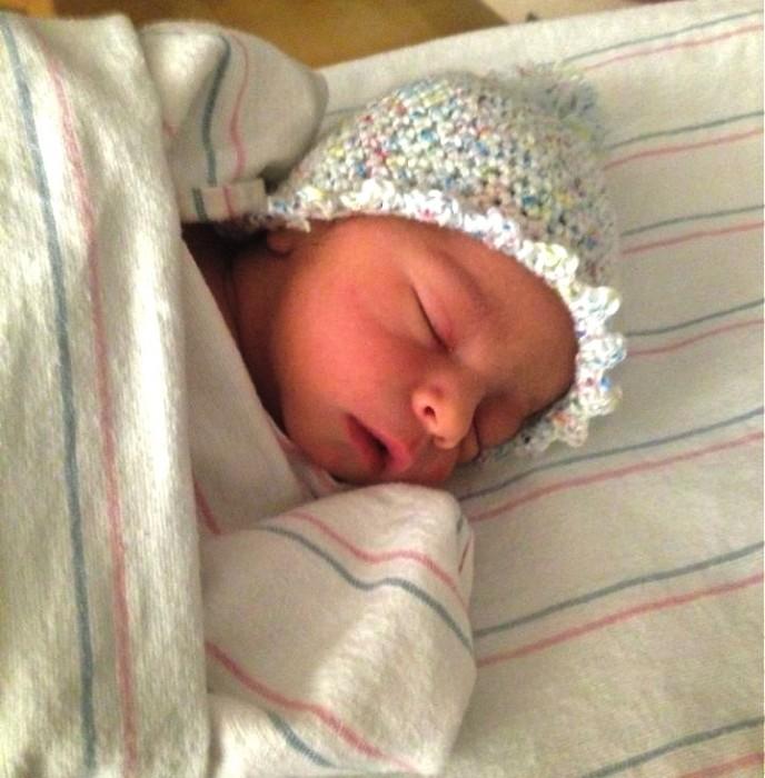 Karis's new baby boy