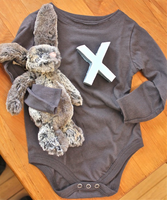 Xavier's new clothes