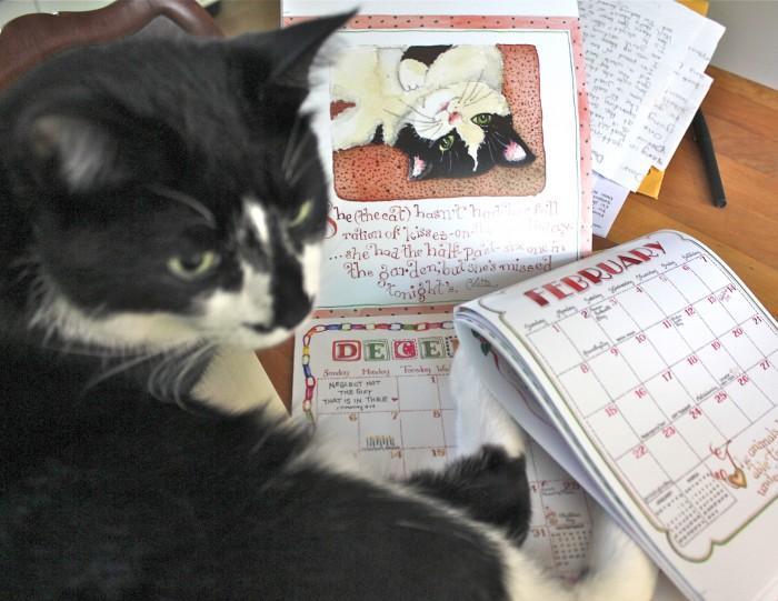 jack and the mini calendar