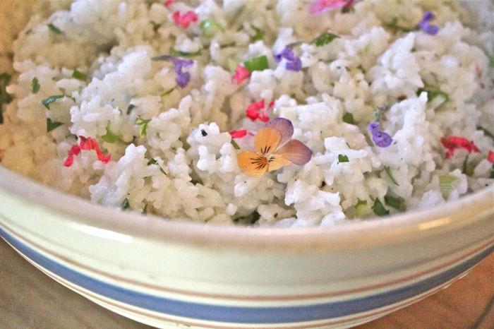 cold rice salad