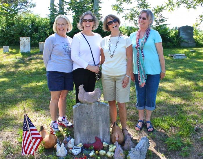 Lynn, Marilyn, Cathy, and Karen