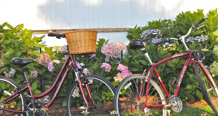 bikes and porches