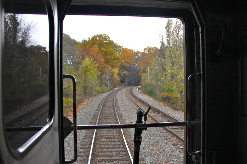 back of the train