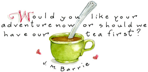 adventure and tea