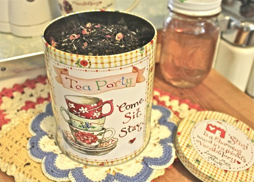 Private blend lavender tea