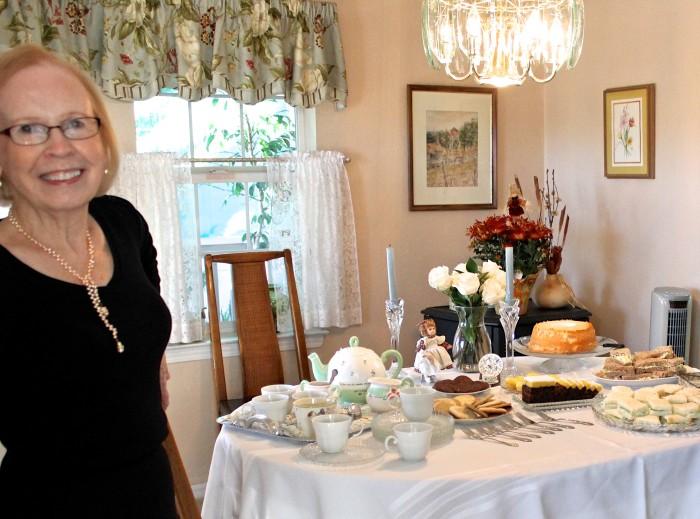 Jeanie's tea party