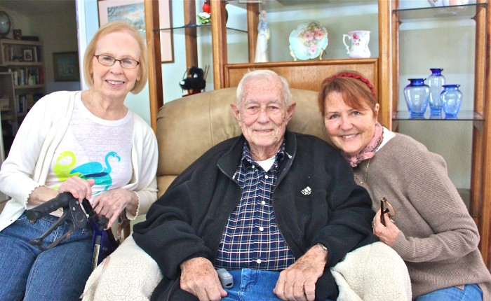 Jeanie, Dad and Me