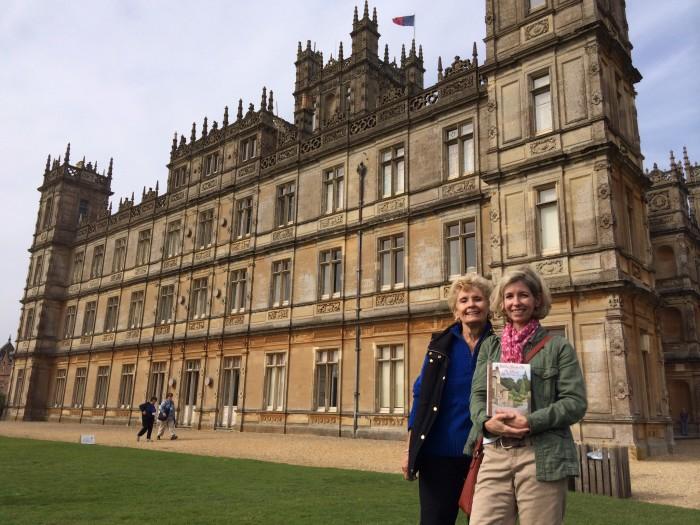 Kay & Cheryl at Highclere