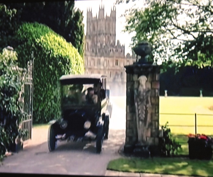 Downton off to London