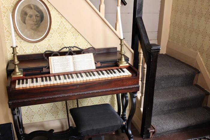 piano at orchard house