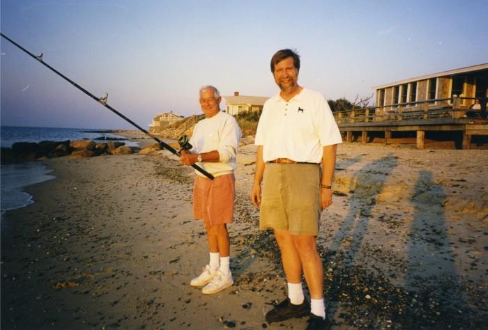 my dad and joe