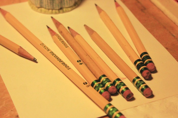 worn out pencils