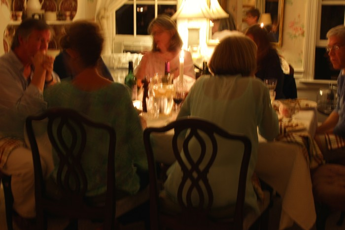 Was a wonderful dinner party