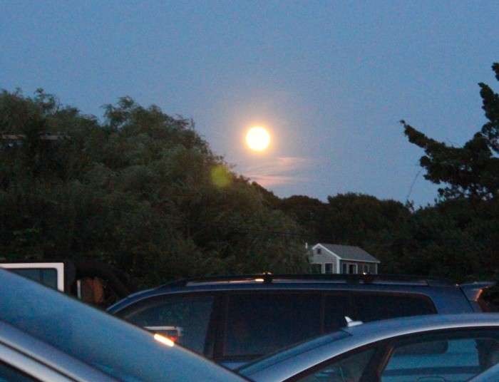 Moon over Menemsha