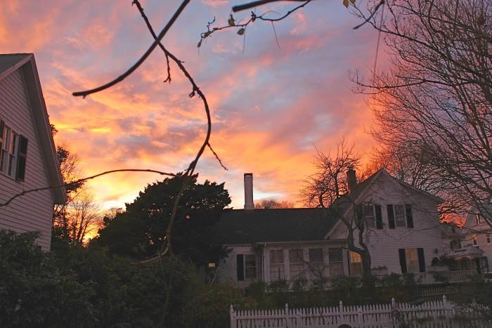 Sunset on Spring Street