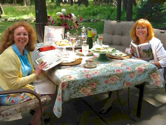 Linda and Kathy in Ohio