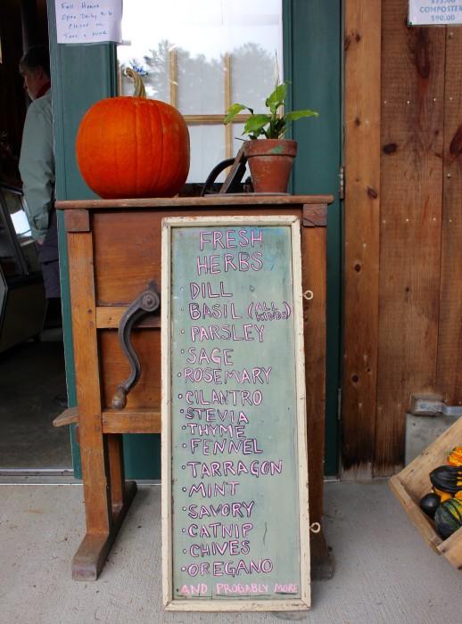 Fall farmstands