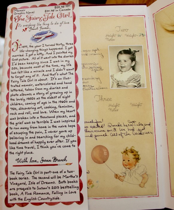 Flap copy for The Fairy Tale Girl