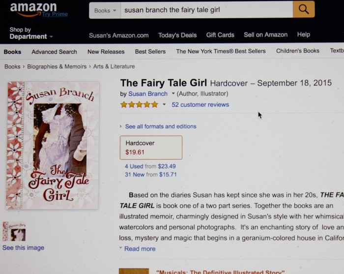 All five stars for The Fairy Tale Girl