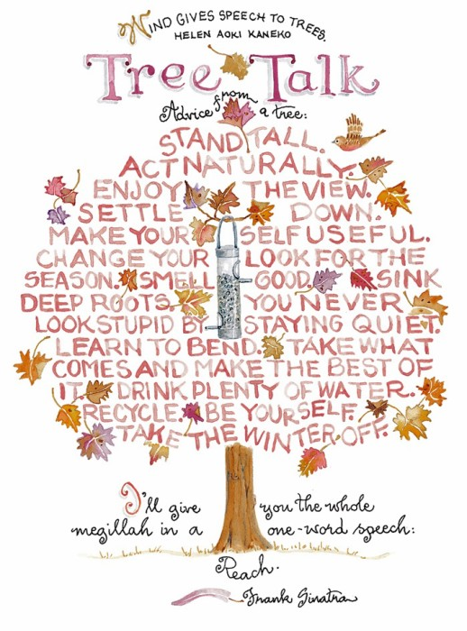 tree talk fall