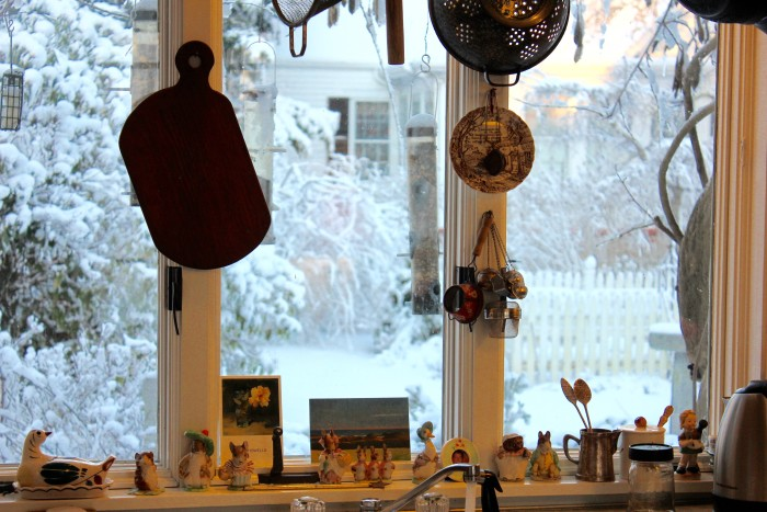 kitchen in the blizzard