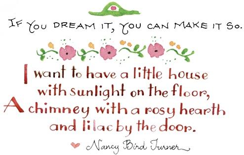 address word home dreams