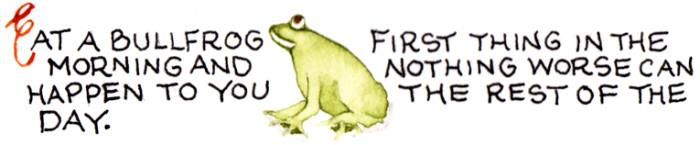 EatABullfrog