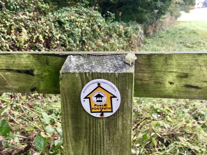 endorse walk sign