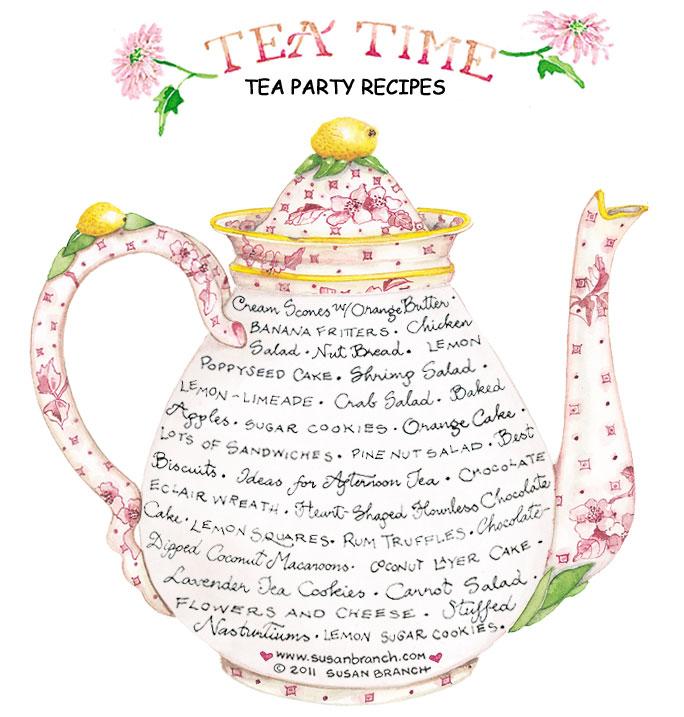 Tea Party Recipes